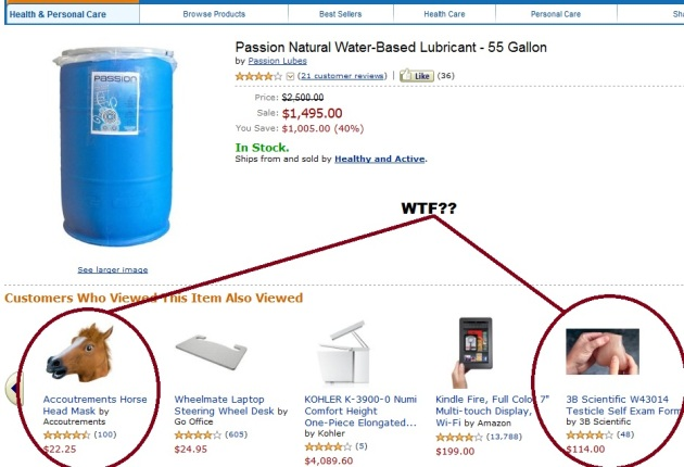 55 Gallon Barrel of Lubricant on Amazon.com