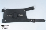 Buckling Leather Thigh Harness from Aslan Leather