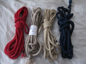 Jute and Hemp Ropes from LoversKnotRopes.com