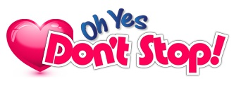 Logo for OhYesDontStop.com