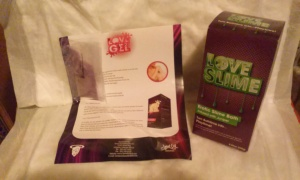 The Love Slime Kit LoveEvil sent to me!